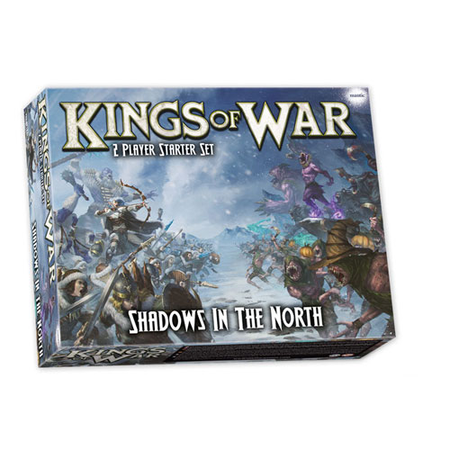 Kings of War 3rd Edition: Shadows in the North: 2-Player Starter Set
