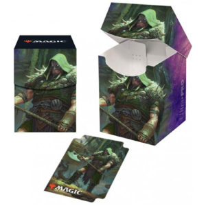 MTG: Throne of Eldraine Garruk Cursed Huntsman PRO 100+ Deckbox