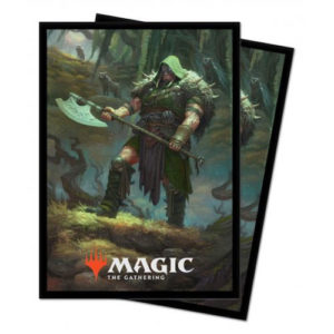 MTG: Throne of Eldraine Garruk Cursed Huntsman Std Deck Protector Sleeves (100)