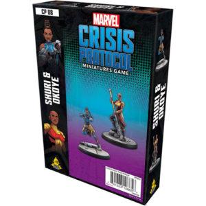 Marvel Crisis Protocol: Shuri and Okoye
