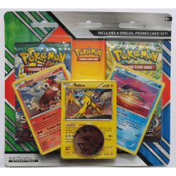 Pokemon Enhanced Blister 2-Pack Booster (One Supplied, Coin Designs May Vary)