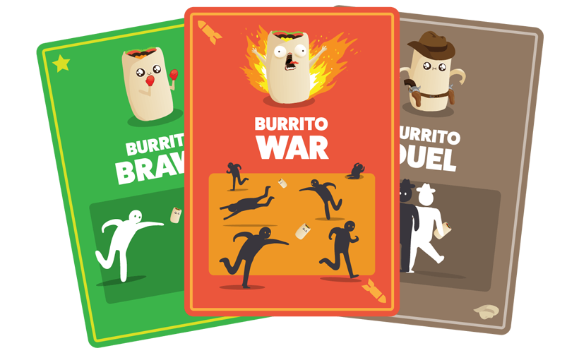 Throw Throw Burrito - Burrito Cards