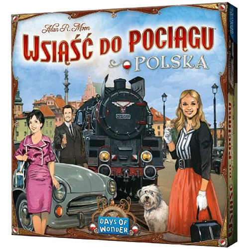 Ticket To Ride Poland Expansion