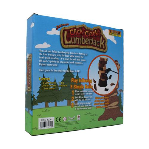 Click! Clack! Lumberjack! Axe Game NEW DESIGN