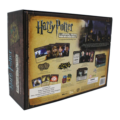 Harry Potter Hogwarts Battle- A Cooperative Deck Building Game