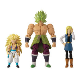 Dragon Stars Poseable Figure Assortment - (SS3 Gotenks, SS Broly, Android 18) - One Supplied