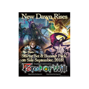 FOW Valhalla Cluster 1 New Dawn Rises Booster Pack