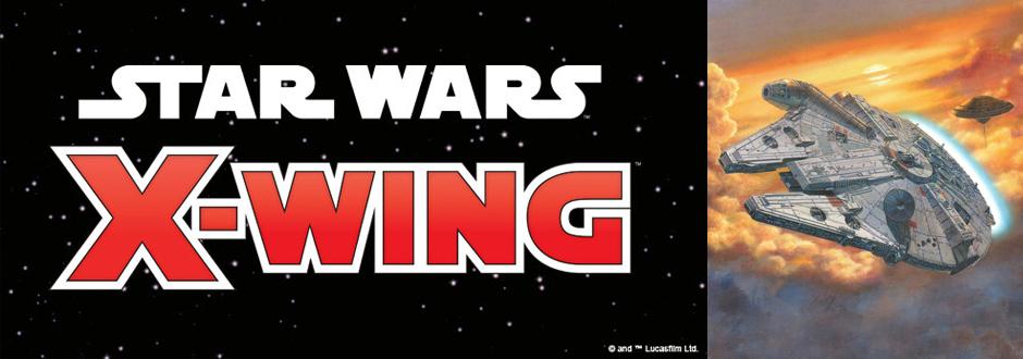 STAR WARS X-WING: LANDO'S MILLENNIUM FALCON
