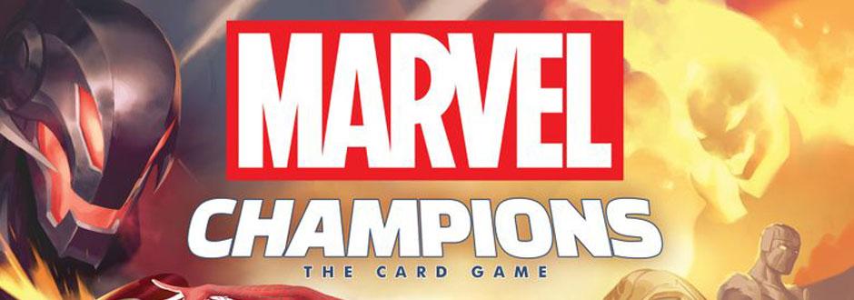 Marvel Champions Box Art
