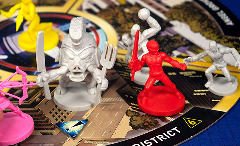 Power Rangers Components