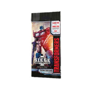 Transformers Trading Card Game: War for Cybertron: Siege Booster Pack
