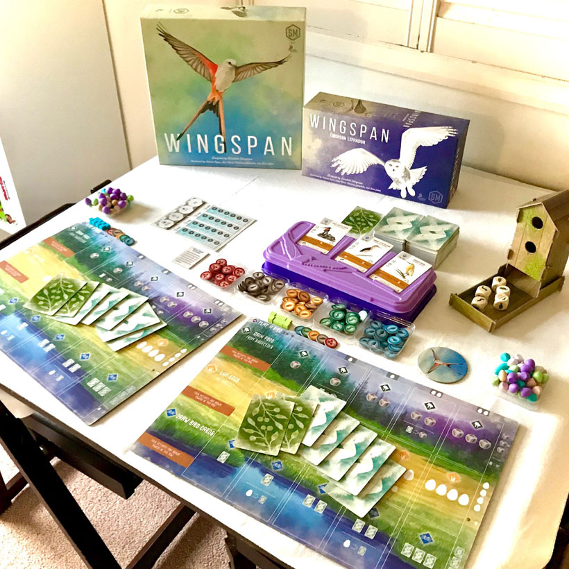 Wingspan-components