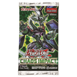 YGO TCG Chaos Impact 1st Edition Booster Pack