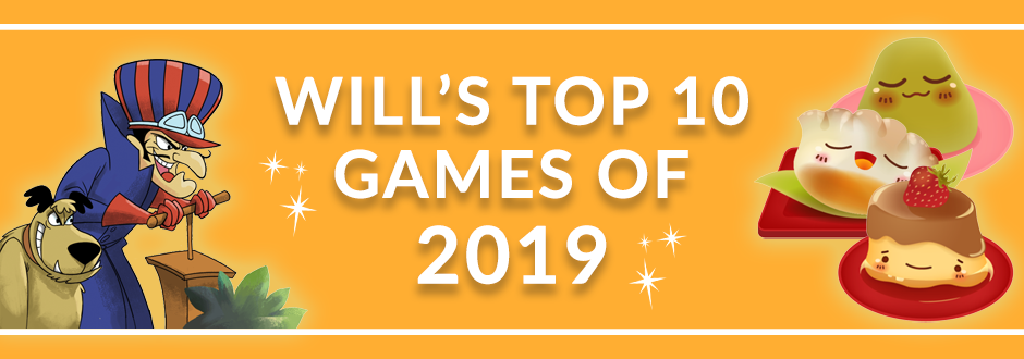 My Top 10 Most Played Games of 2019