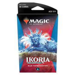 MTG: Ikoria- Lair of Behemoths Theme Booster - Blue