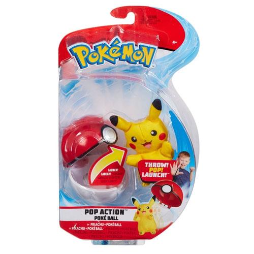 Pokemon Pop Action Pokeball - Pikachu