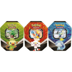 Pokemon TCG: Galar Partners Tins - Three Set