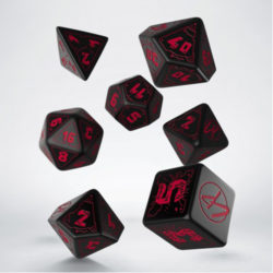 Q-Workshop The Cyberpunk RPG Dice Set