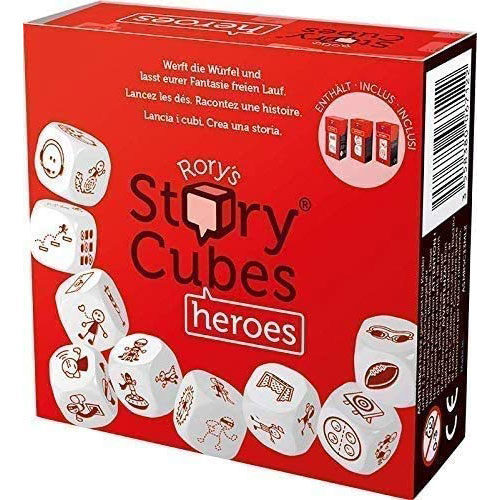 Rory's Story Cubes Eco Blister Heroes