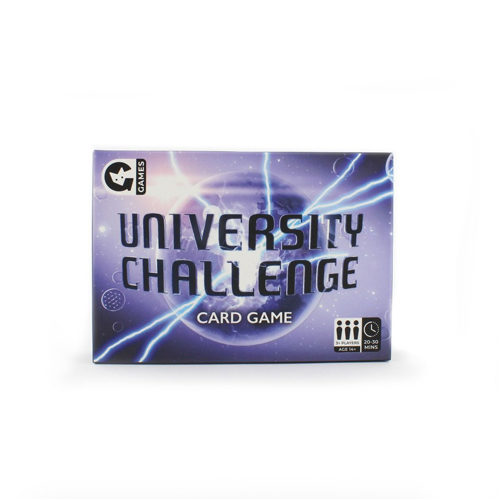 Universtity Challenge Card Game
