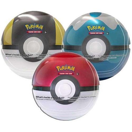 Pokemon TCG: Poke Ball Tin Series 4 - Assorted (One Supplied)