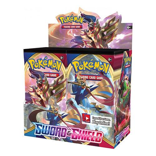 Pokemon Sword and Shield Booster Box