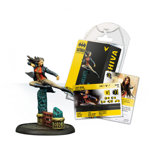 Batman Miniatures Game Lady Shiva