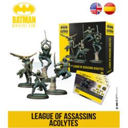 Batman Miniatures Game: League of Assassins Acolytes