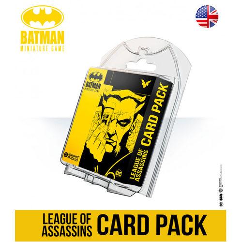 Batman Miniatures Game: League of Assassins Card Pack