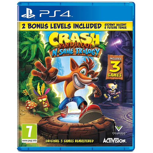 Crash Bandicoot N Sane Trilogy 2.0 - PS4