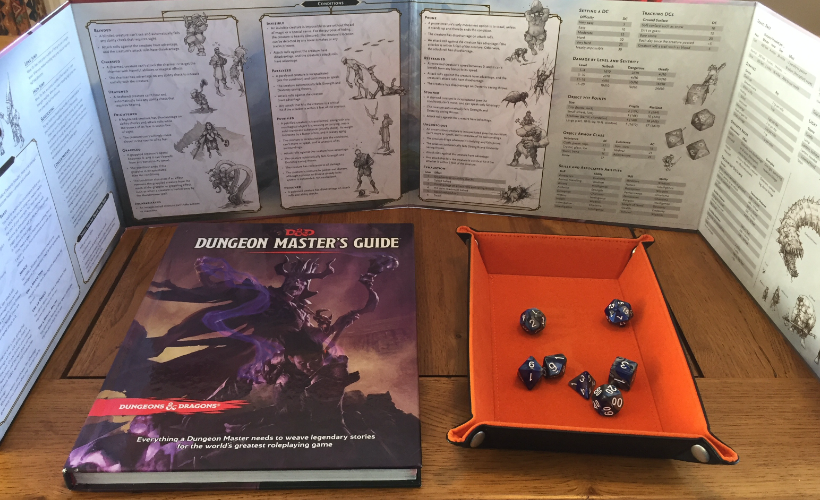 D&D DM Screen Body