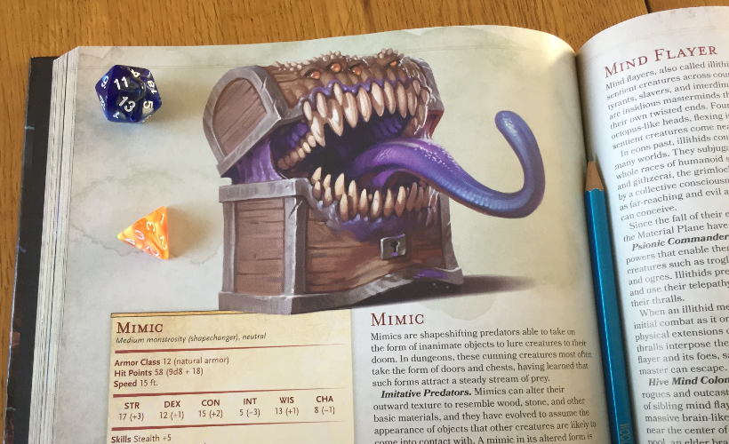 D&D Mimic Body