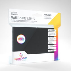 Gamegenic: Prime Sleeves - Black