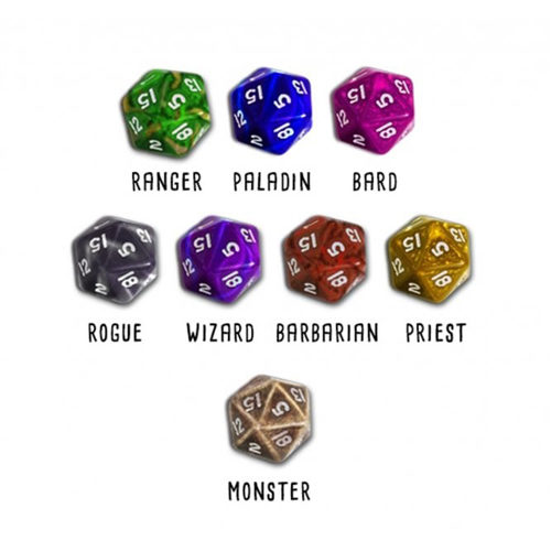 Hero Master: An Epic Game of Epic Fails - Custom Dice