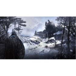 Shadows of Kilforth: Hero Playmat - Whipping Snow