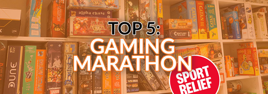 Top 5 Gaming Marathon