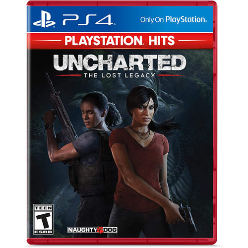 Uncharted Lost Legacy Hits - PS4