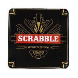 Scrabble Art Deco Tin