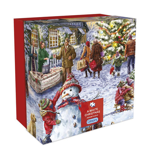 A White Christmas Puzzle