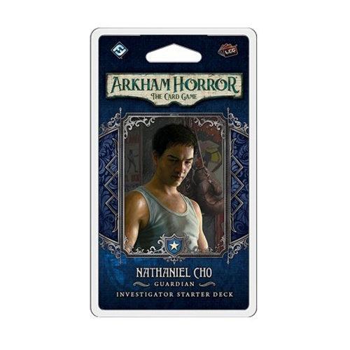 Arkham Horror: The Card Game - Nathaniel Cho Investigator Starter Pack