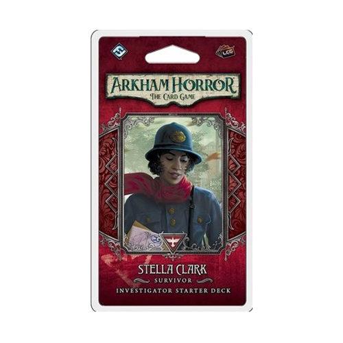 Arkham Horror: The Card Game - Stella Clark Investigator Starter Pack