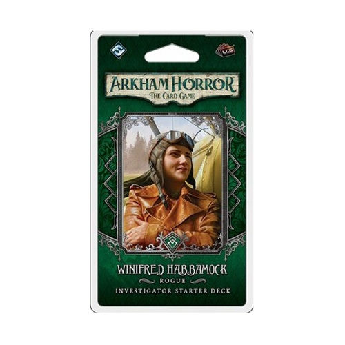 Arkham Horror: The Card Game - Winifred Habbamock Investigator Starter Pack