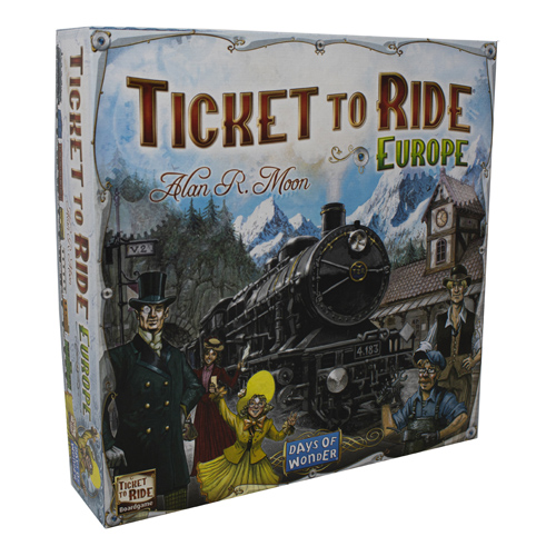 *B Grade* Ticket to Ride Europe