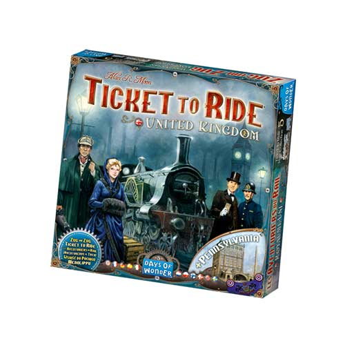*B Grade* Ticket to Ride UK Expansion Pack