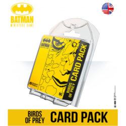 Batman Miniatures Game: Birds of Prey Card Pack