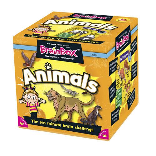 Brainbox Animals (55 Cards)