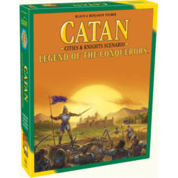 Catan: Legend to the Conquerors (Cities and Knights Scenario)