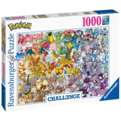 Challenge Pokemon Puzzle (1000 pieces)