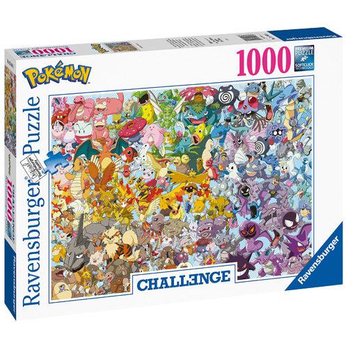 Challenge Pokemon Puzzle (1000 pieces)