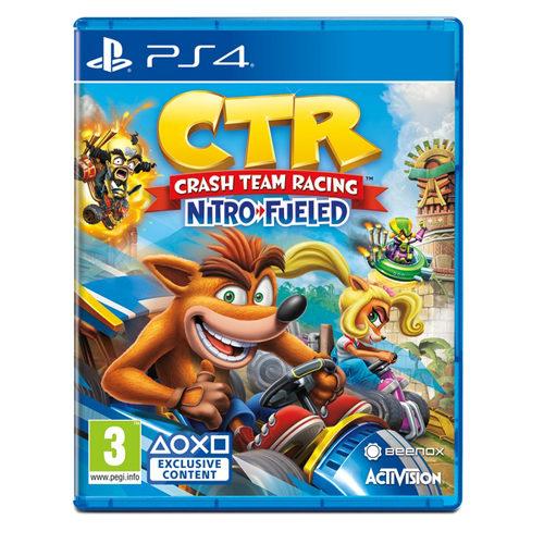 Crash Team Racing & Crash Bandicoot Double Pack - PS4